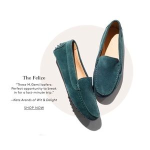 M. Gemi Felize Driving Moccasin Green